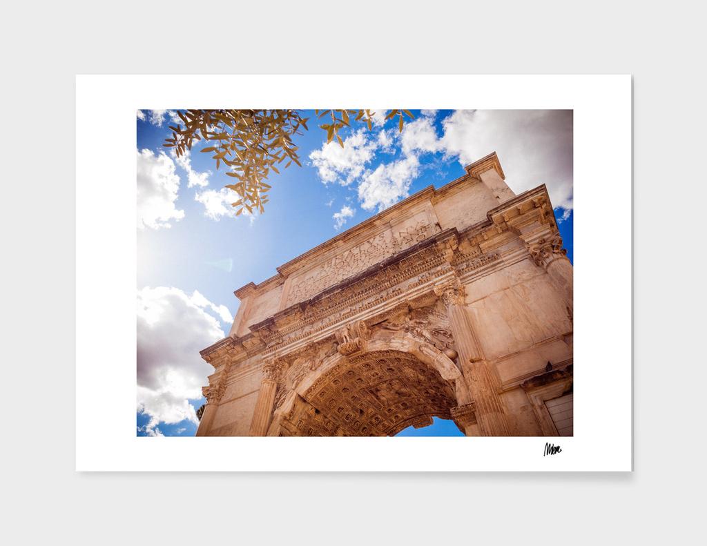 Forum Romanum: Arch of Titus