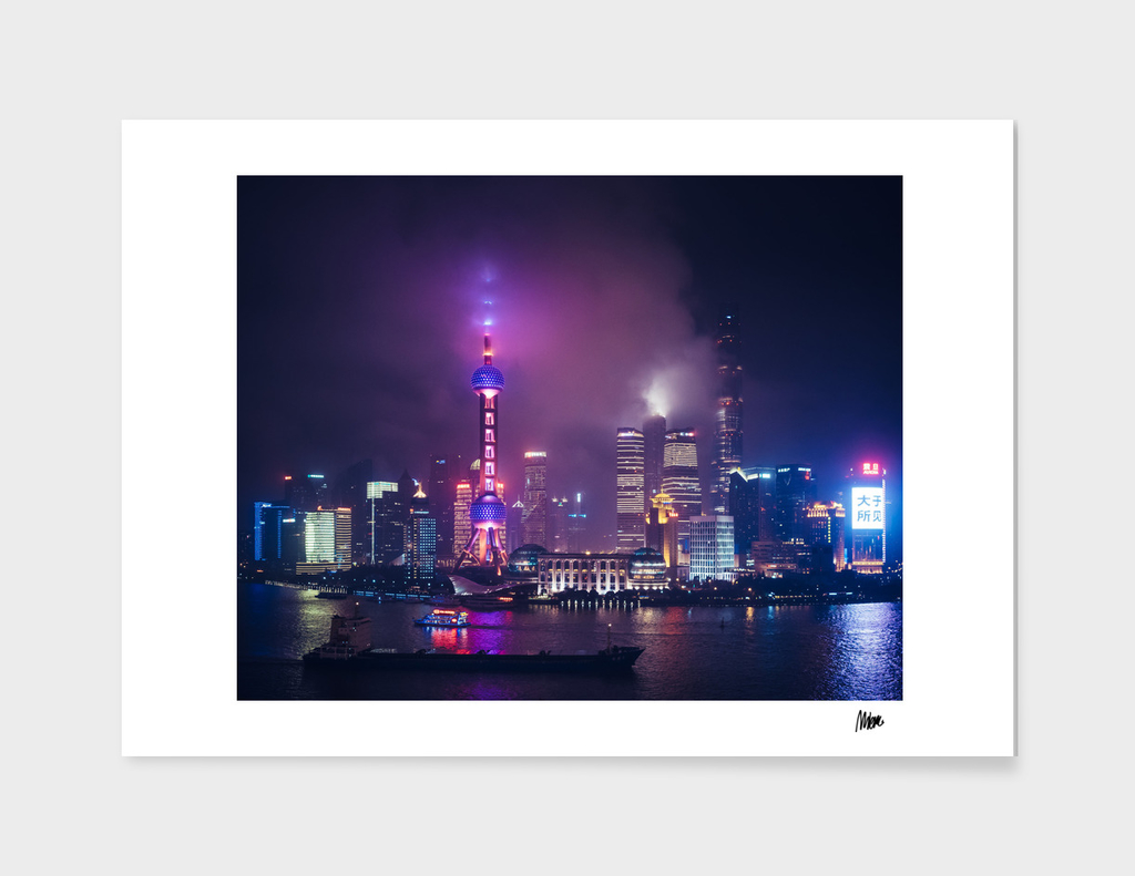 Shanghai by night