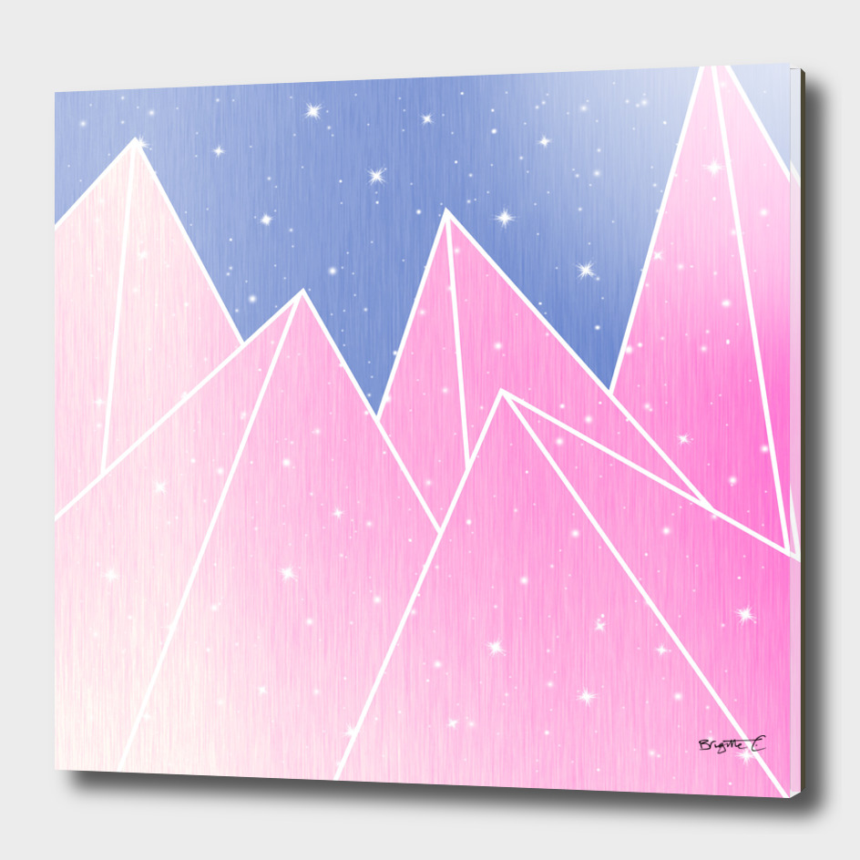 Sparkly Pink Crystals Design