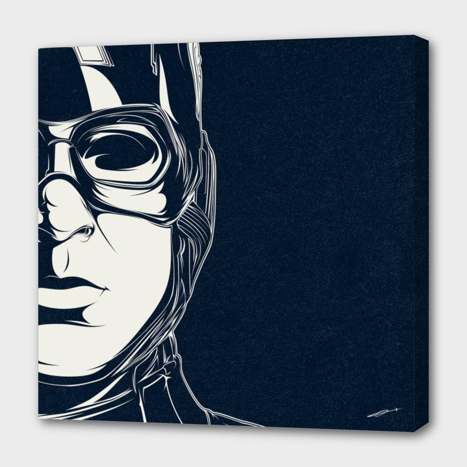Captain America Dark