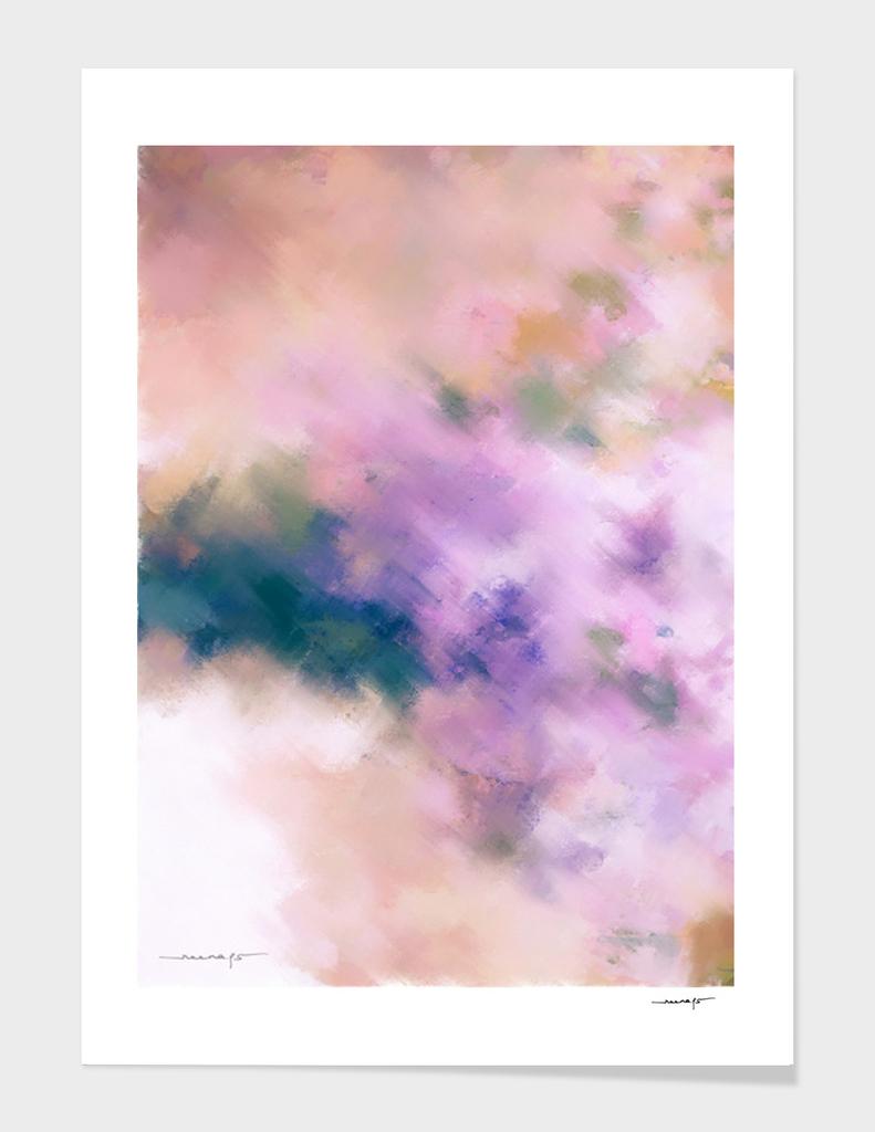 Color Burst - Blue Hydras