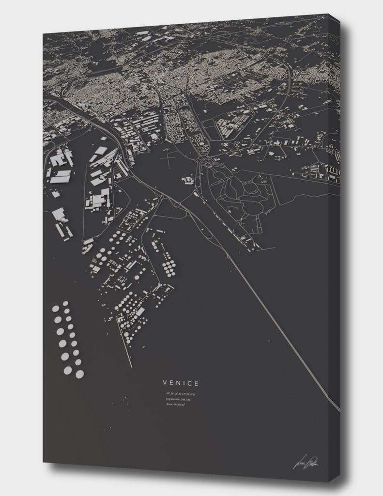 Venice city map