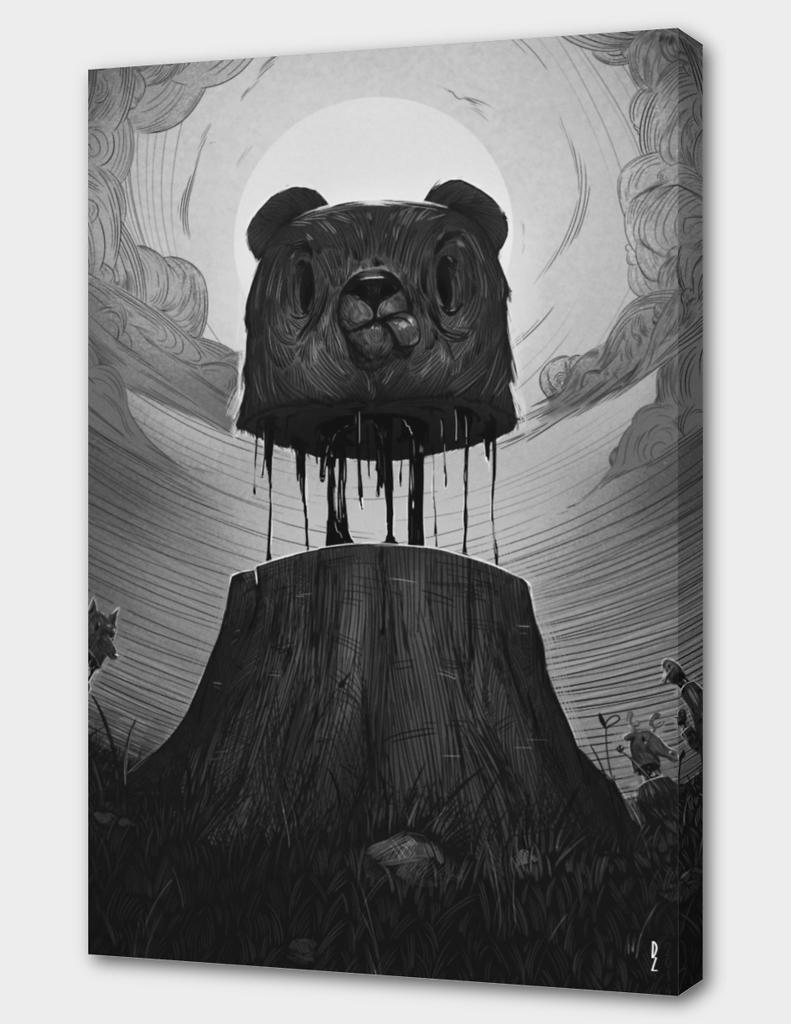 Deadwood(black and white)