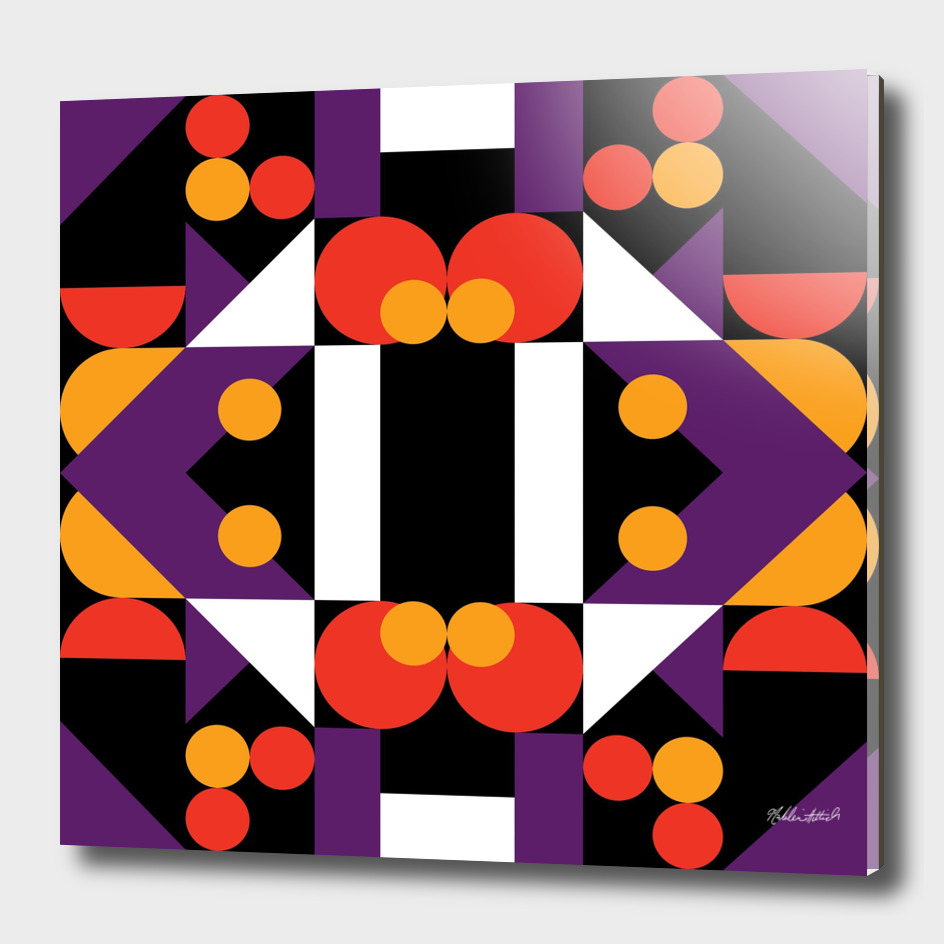Graphic Kaleidoscope Design 38