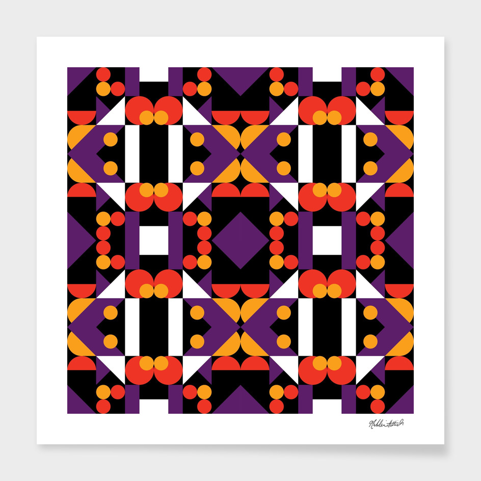 Graphic Kaleidoscope Design 39