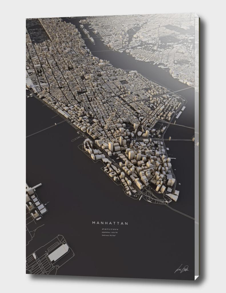 Manhattan City Map II