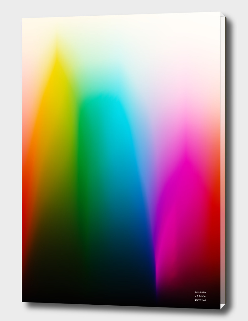 Every Color Rainbow Gradient on Film Stock