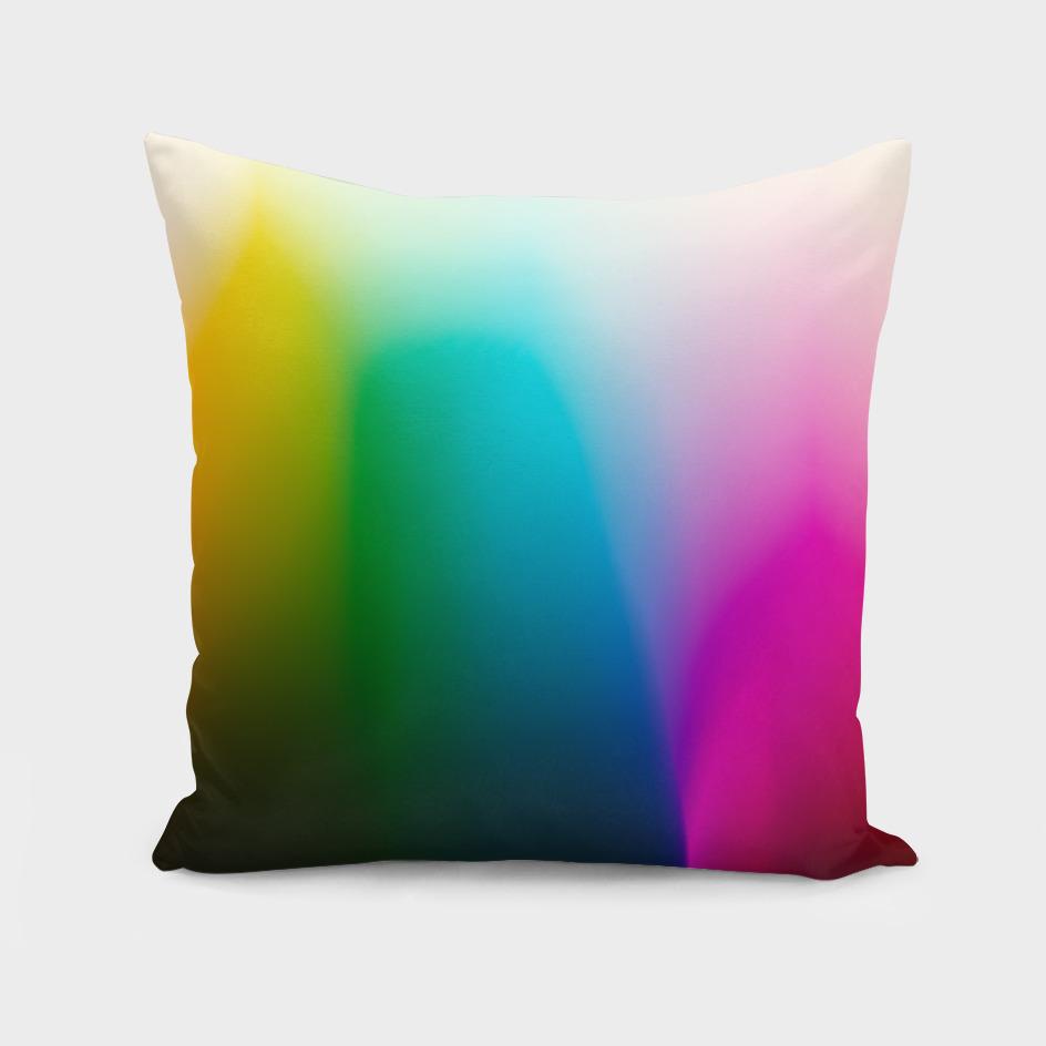 Every Color Rainbow Gradient on Film Stock