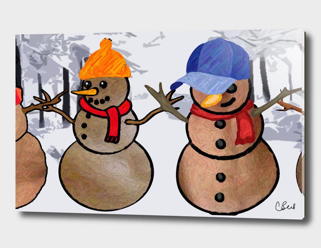 Snowmen of the World