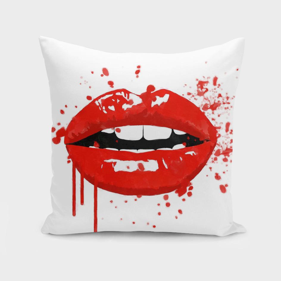 Red Lips Illustration