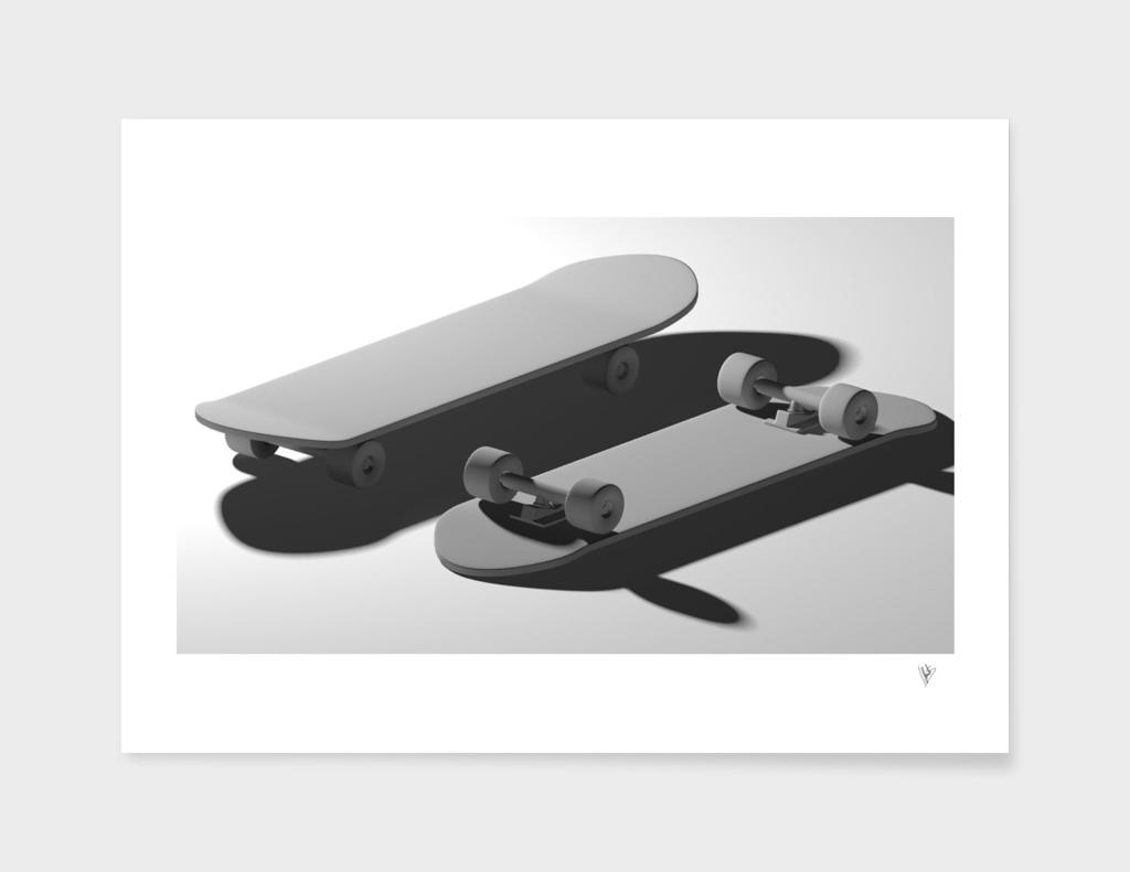 Skates grey