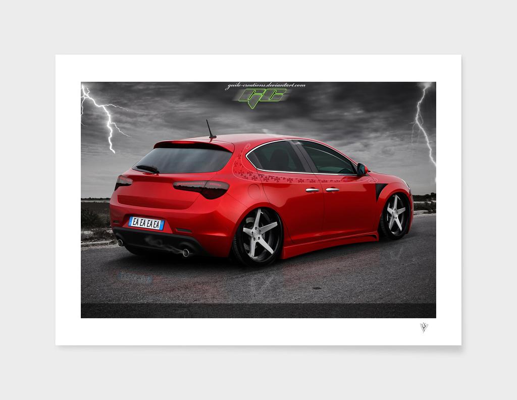 Alfa Giulietta Red Passion