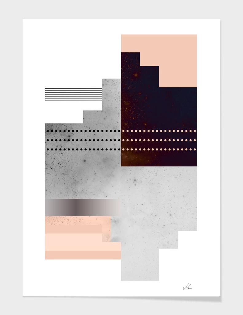 Geometric Dot Stripe Gradient Speckled Polygon Texture