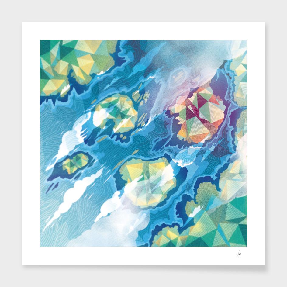 Geometric Islands
