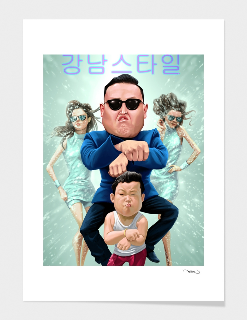 Gangnam style in my style