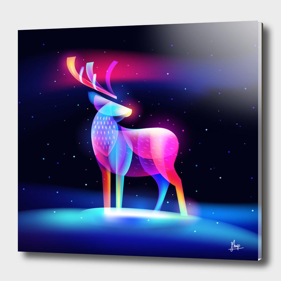 Fantasy-light-reindeer