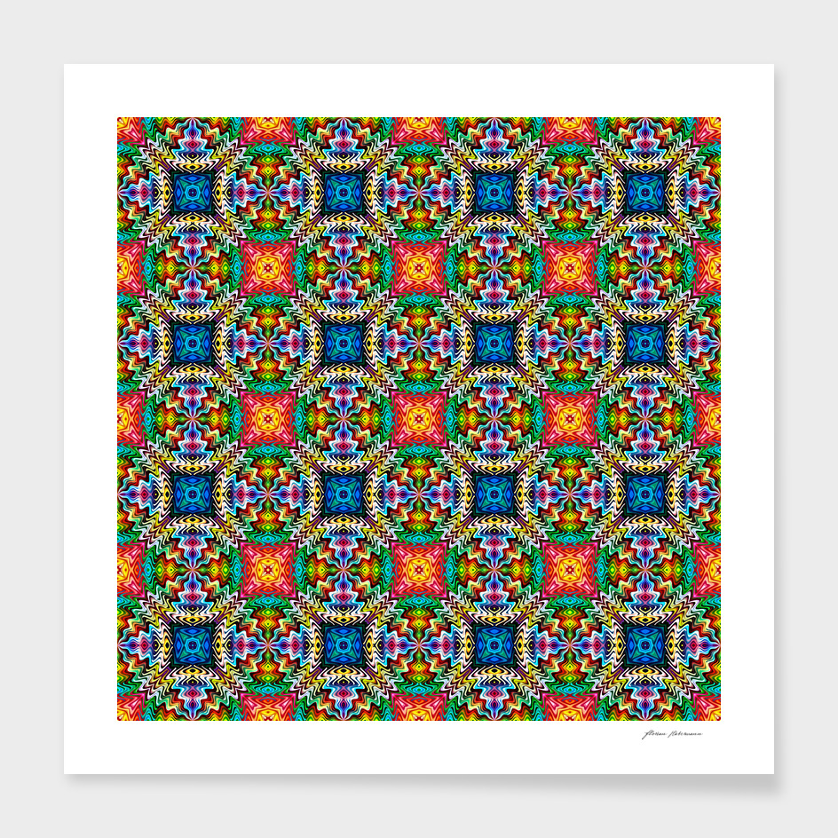 Native American Pattern Nine