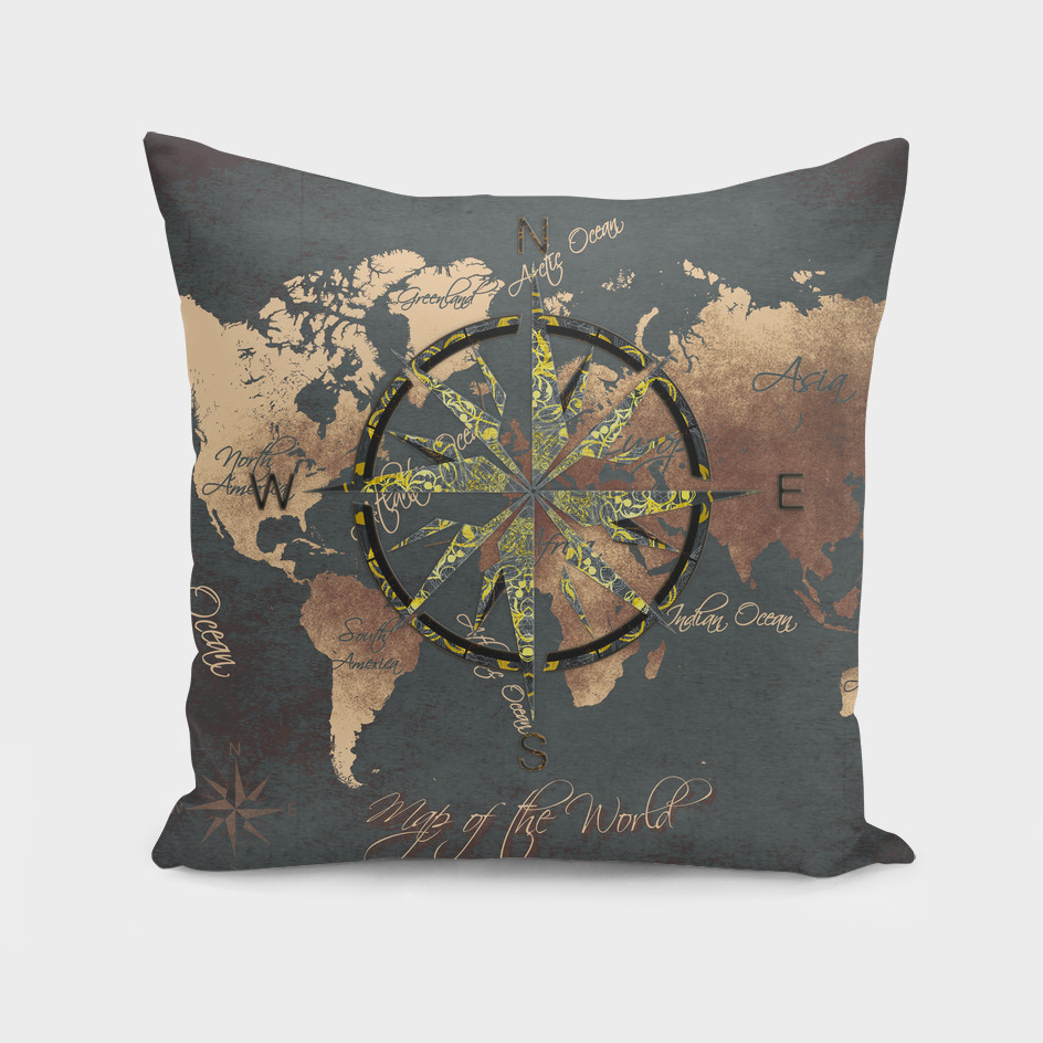world map wind rose 8