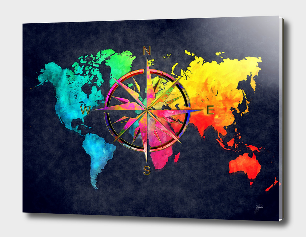world map wind rose 9