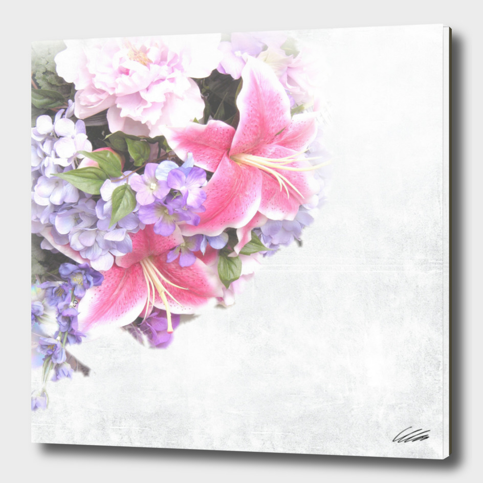 Vintage Flowers Lily
