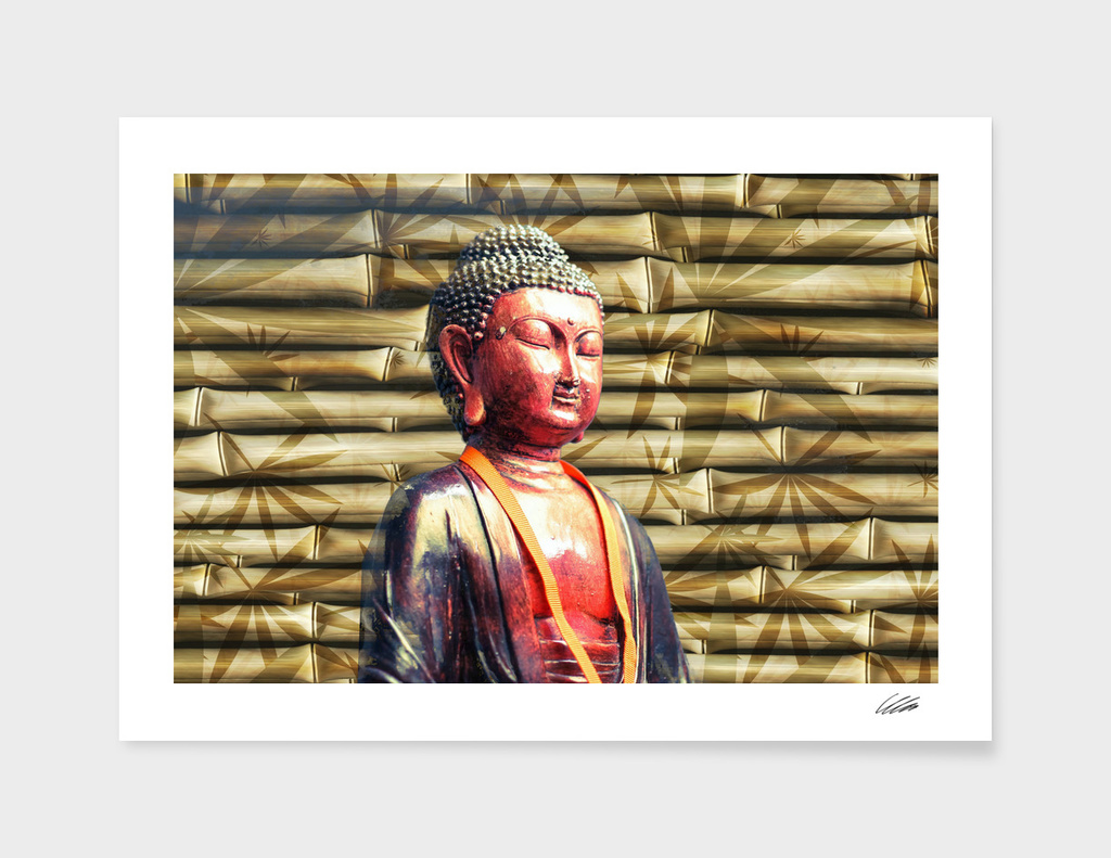 Buddha Style with Bamboo