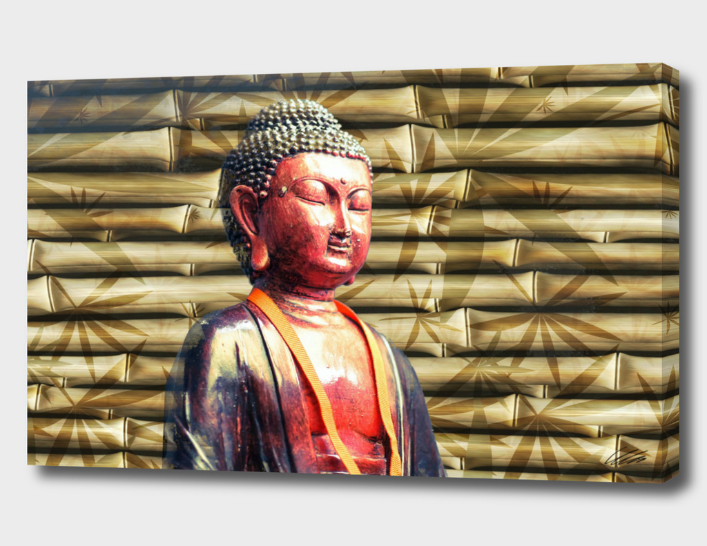 Buddha Style with Bamboo