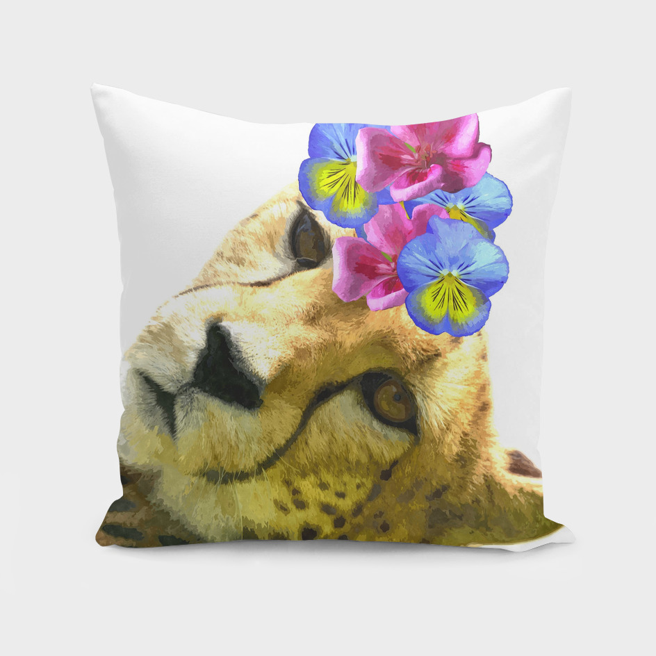Cute Cheetah Illustration