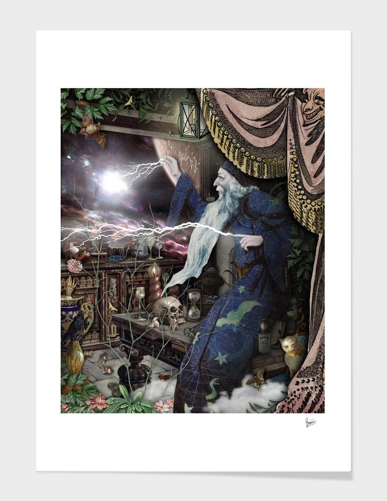 Collage- Eternal Wisdom - Gloria Sanchez