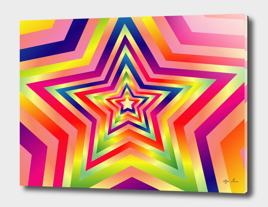 Star Colorful Rainbow Spectrum