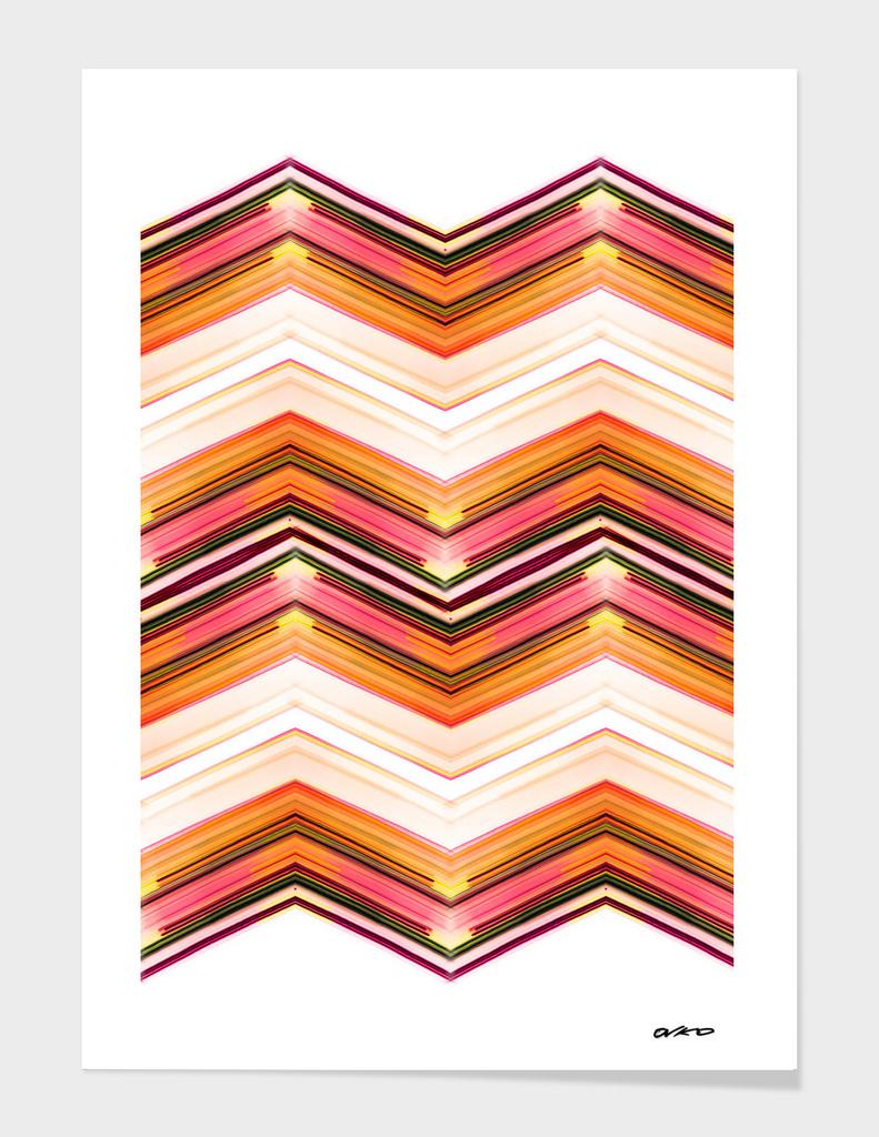 Geometric Wave - Futuristic Minimal Art