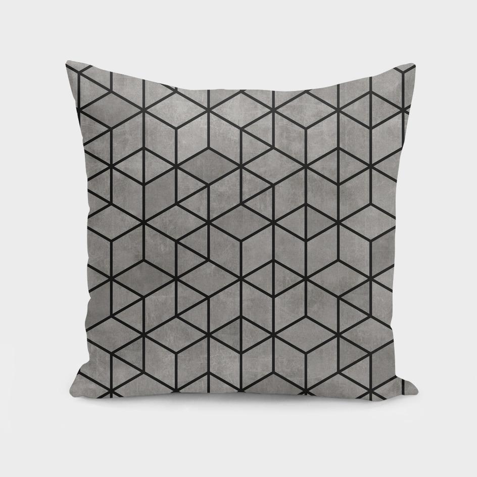 Hexagon Concrete Cubes