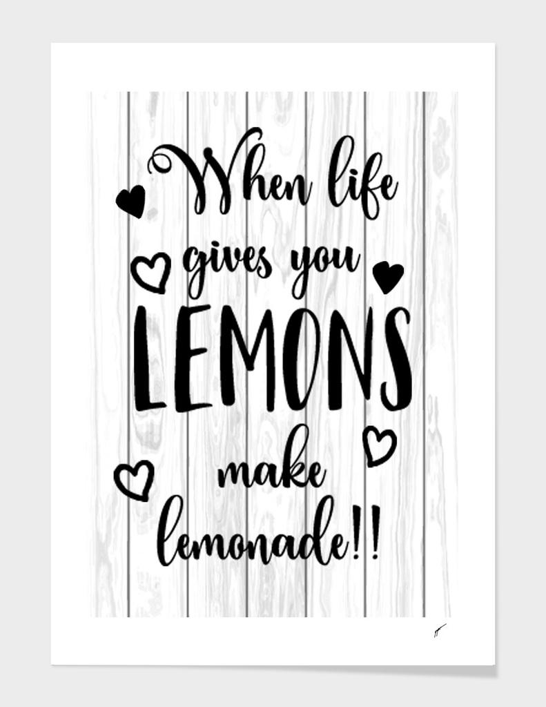 Quote Poster - 11 - Lemon