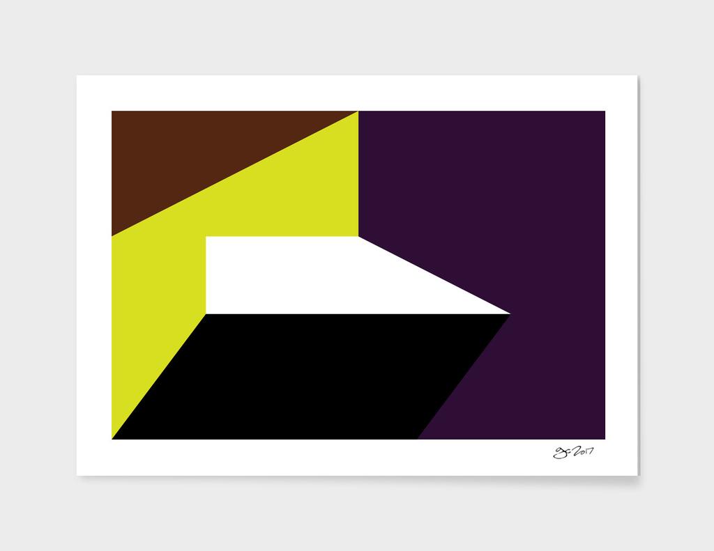 Geometric Abstract No #215