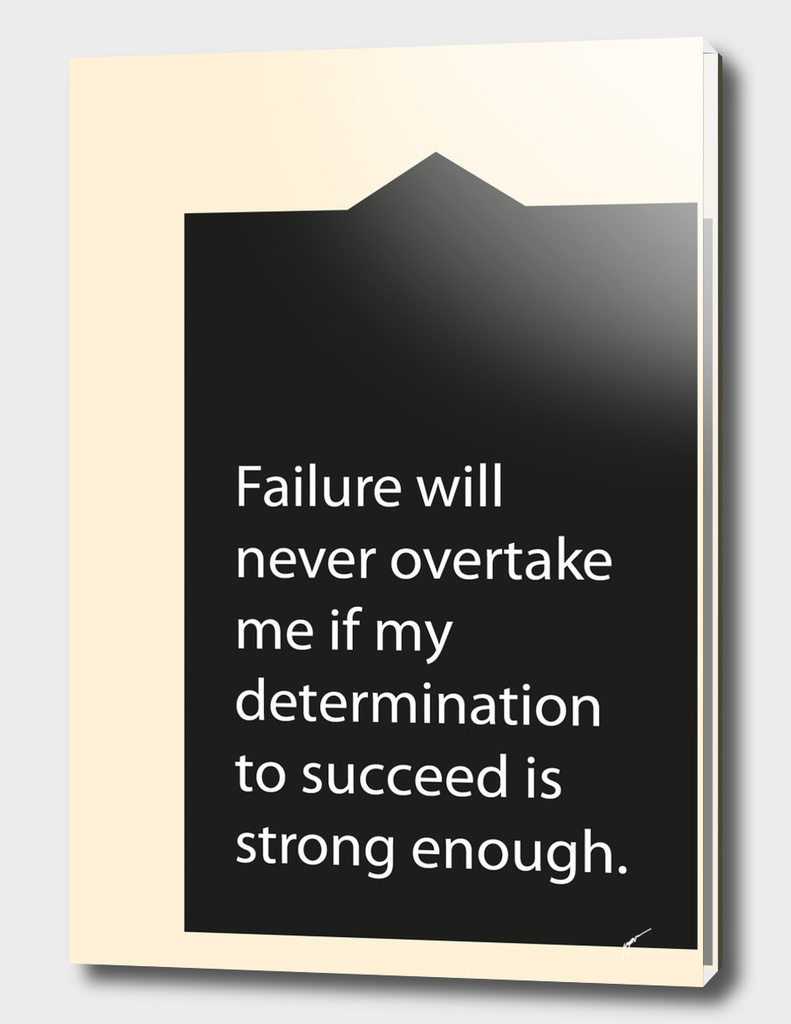 Quote Poster - 43 - Failure