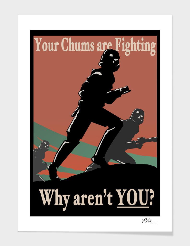 Stormtrooper Propaganda Poster