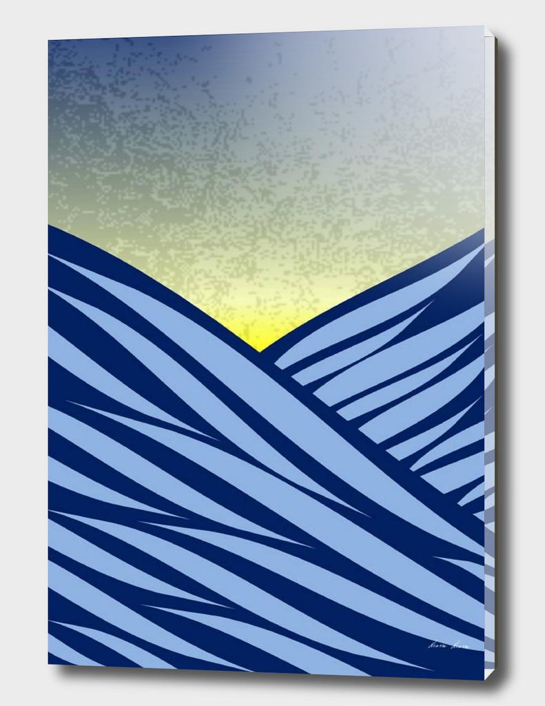 Waves of the ocean ..