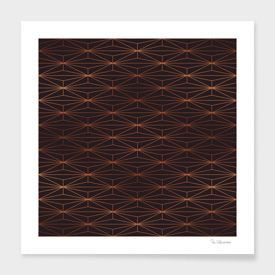 ELEGANT BLACK BEAN COPPER PATTERN Part3