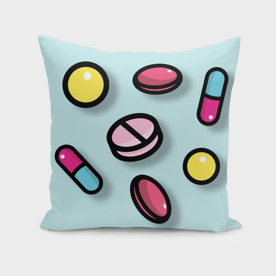 Pills cute pattern