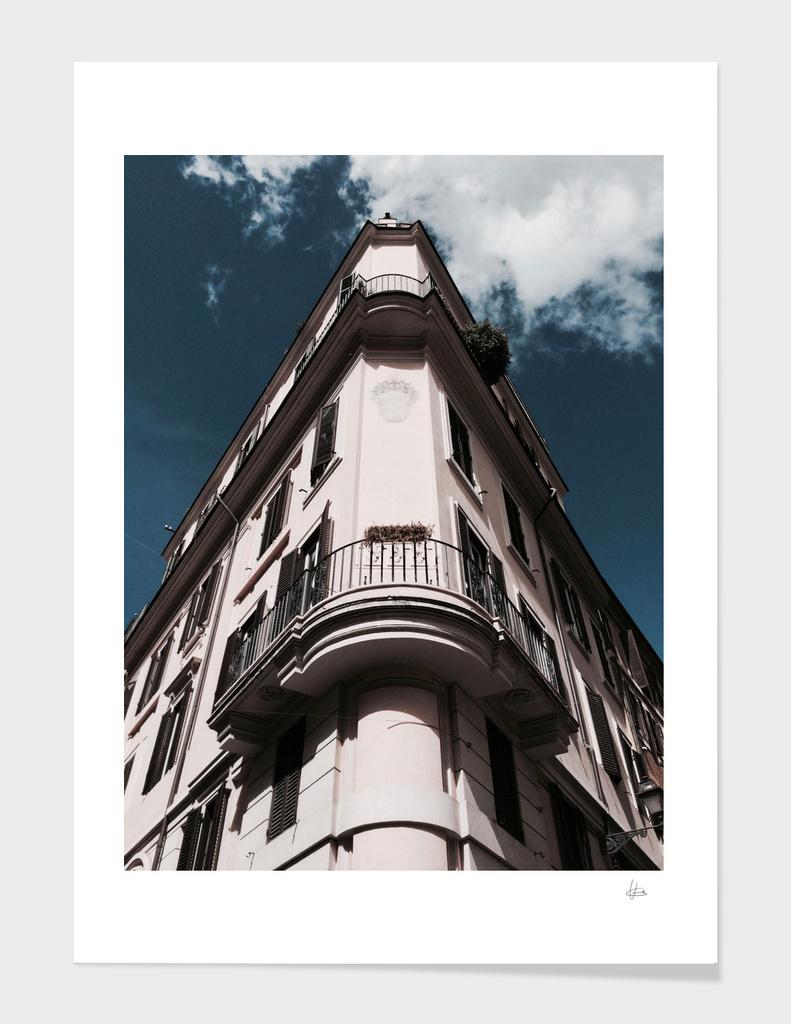Corner Building in Rome