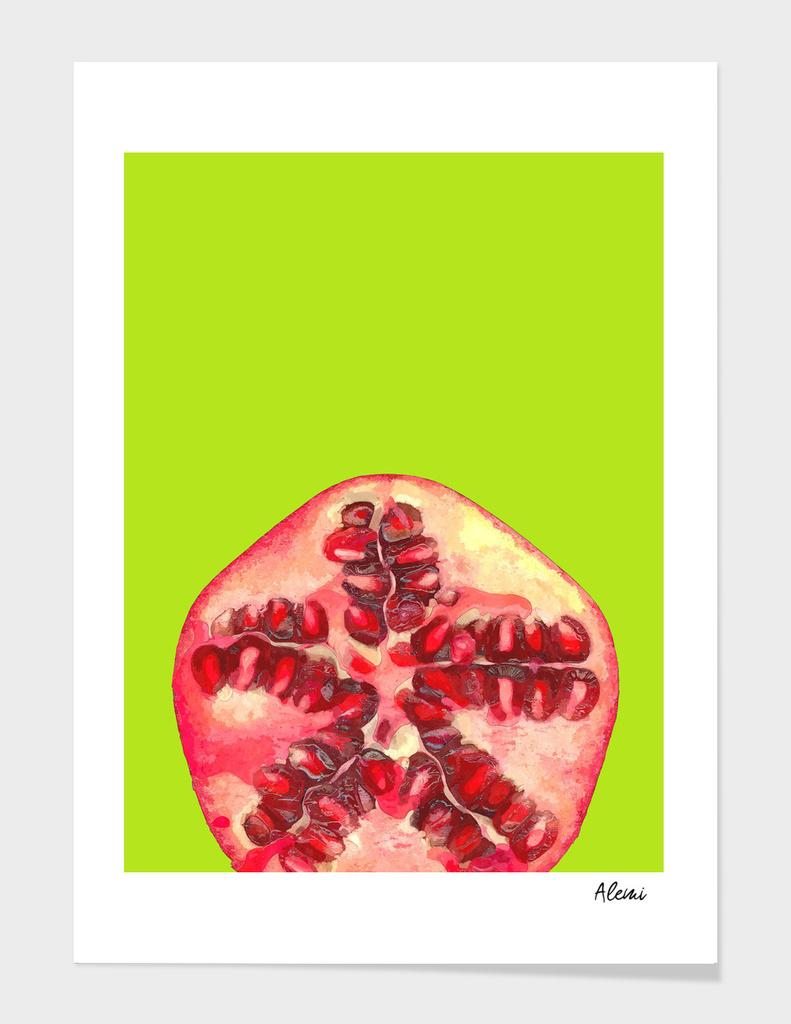 Pomegranate Tropical Fruit