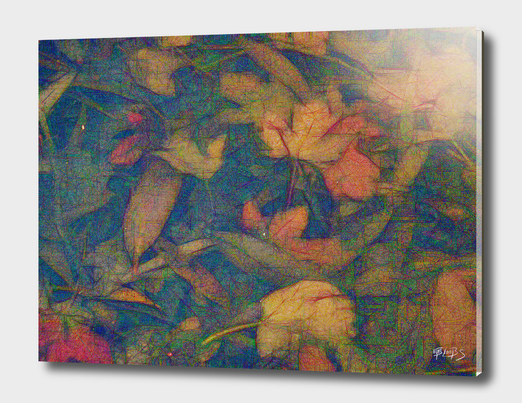 Autumn Leaves Submerged