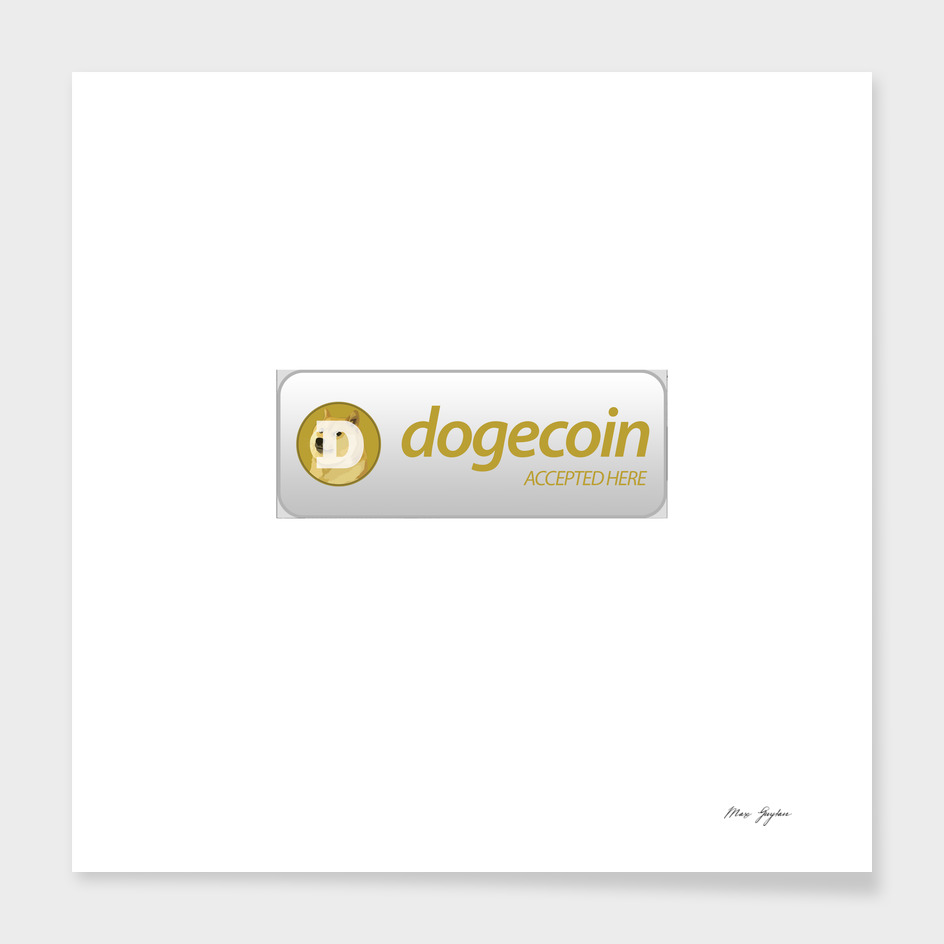 Accepted here: Dogecoin (Doge)
