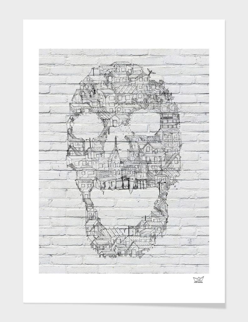 Skull - Shantytown Walls