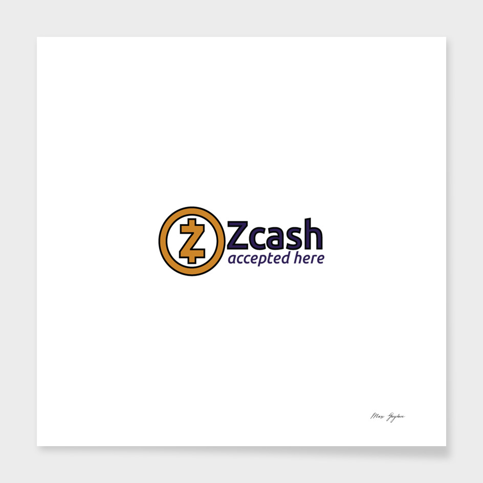 Accepted here: Zcash