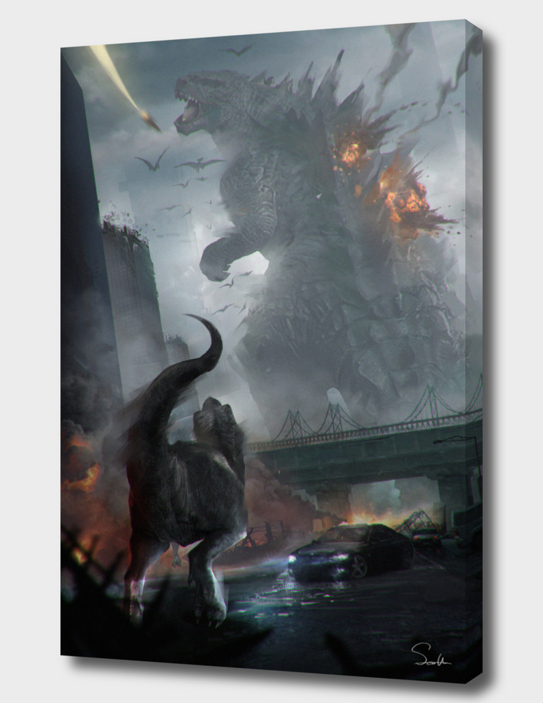 gesila vs t-rex