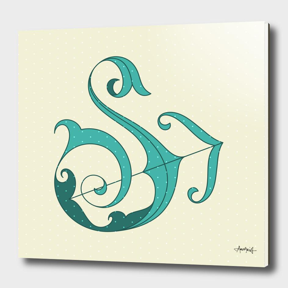 Letter S Arrow