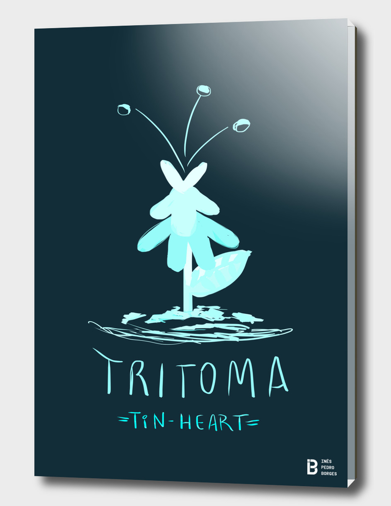 Tritoma (from Tin-Heart)