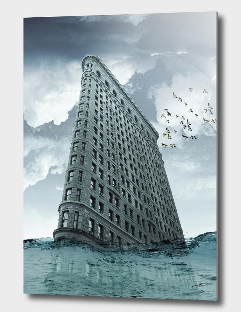 Flatiron under water