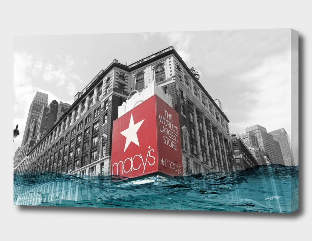 Macy's water damage sale