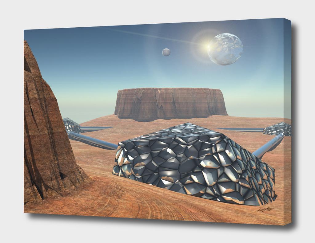 Babylon Mars colony